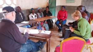 SAIRLA researchers meet with small holder farmers, Mkushi district, Zambia