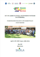 Ethiopia NLA: ICT for Extension Systems in Ethiopia Workshop Report, April 2019