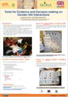 IITA: Tools for Evidence and Decision-making on Gender-SAI Interactions