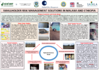 SRMS: Smallholder risk management solutions in Malawi and Ethiopia